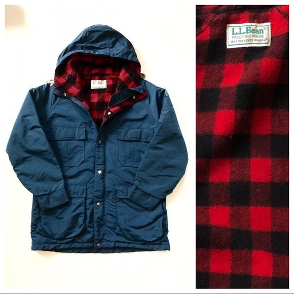 f84c3bb3b851 L.L. Bean Other - Vintage Buffalo Plaid Lined Baxter State Parka